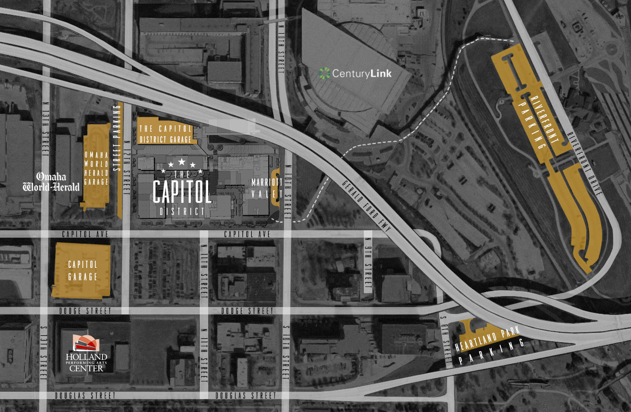 The Capitol District parking map