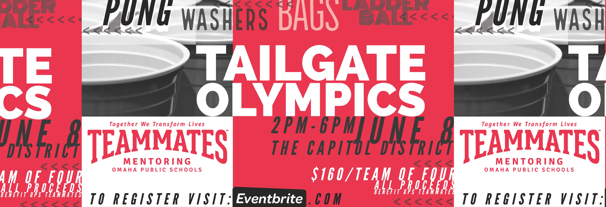 Tailgate Olympics Flyer
