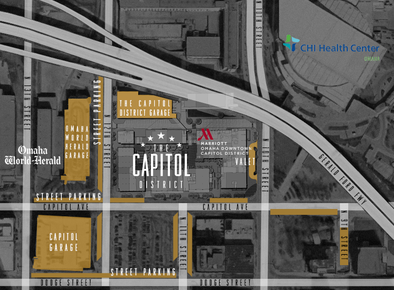 The Capitol Distrcit Parking Map